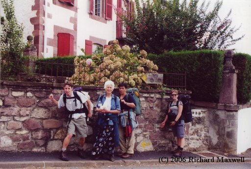 Camino, Day One